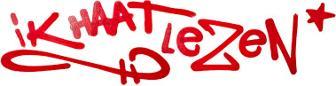 Logo website ik haat lezen .nl